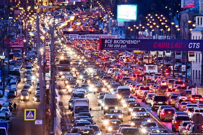 Проблема дураков и дорог в России (6 фото+видео)