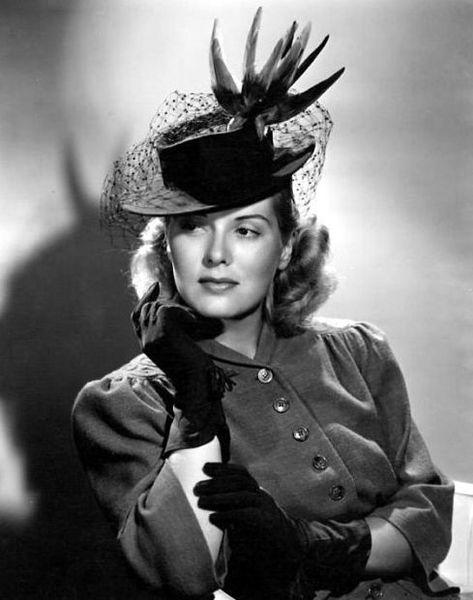 Звезды Голливуда в шляпках 1930 - 1940 (43 фото)