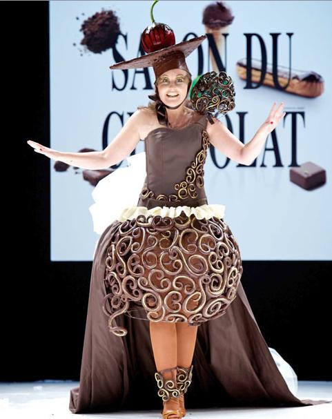 Шоколадное шоу в Париже 2011 (15 фото)