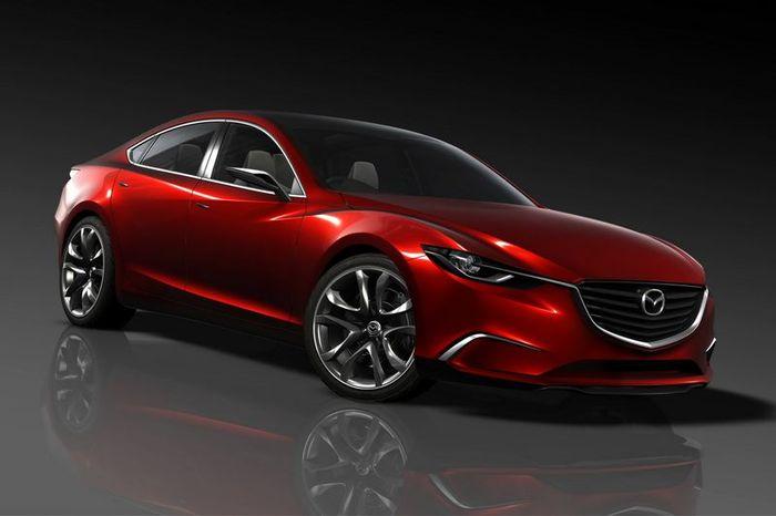 Концепт Mazda Takeri - прообраз новой Mazda 6 (13 фото)