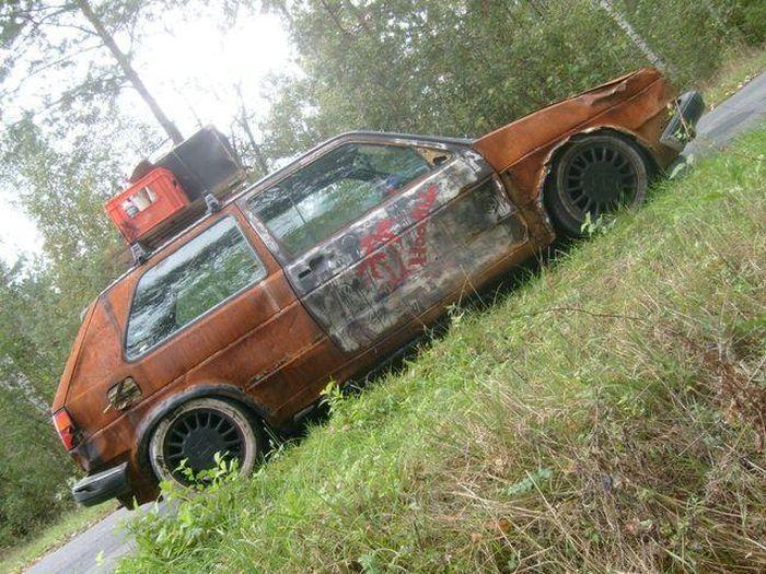 Автомобили Volkswagen в Rat&Funky стилях (30 фото)