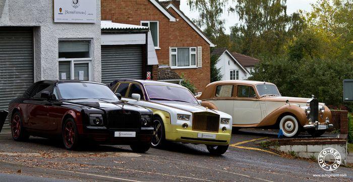 Тюнингованная коллекция Rolls-Royce (46 фото+видео)