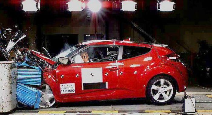 Результаты 12 краш-тестов новых автомобилей от Euro NCAP (текст)