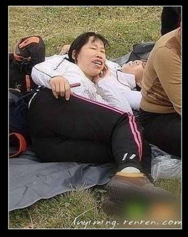 Сумасшедшие люди Азии против сумасшедших людей Америки (40 фото)