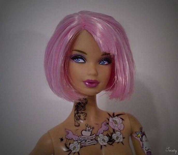 Современный имидж куклы Барби (9 фото)