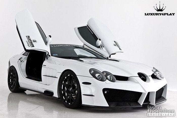 Mercedes-Benz McLaren SLR от Luxury4Play (12 фото+2 видео)