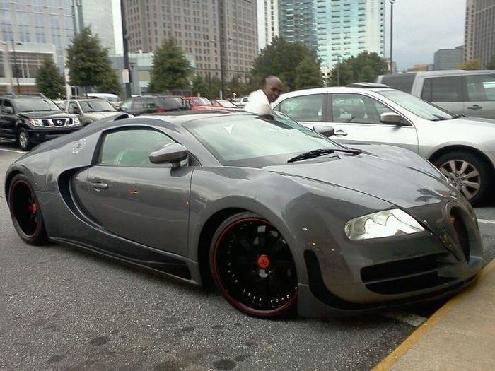 Идеальная копия на Bugatti Veyron (8 фото+видео)