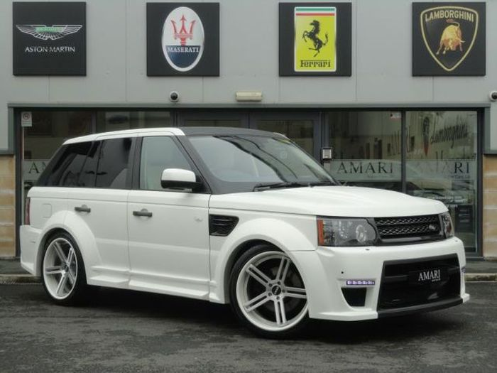 Range Rover Sport Windsor Edition от Amari Design (25 фото)