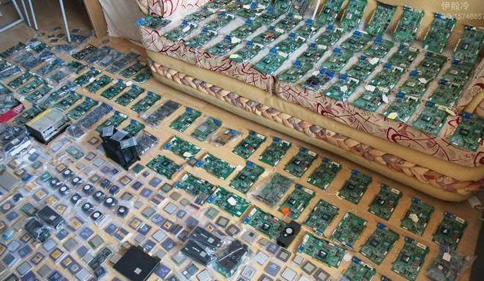 Коллекция комплектующих (4 фото)