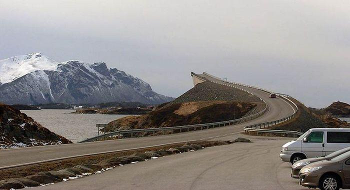 Сторсезандетский мост в никуда (8 фото)