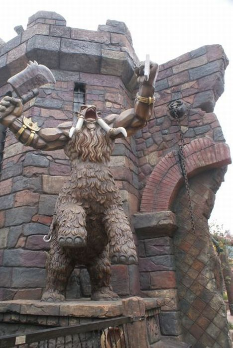 Фотографии из парка, посвященного World of Warcraft и Starcraft (40 фото)