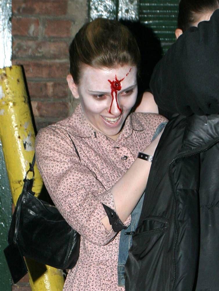 Костюмы знаменитостей на Хэллоуин (23 фото)