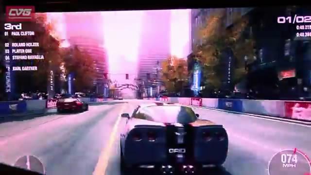 Видео Grid 2 с Eurogamer Expo 2012 (видео)