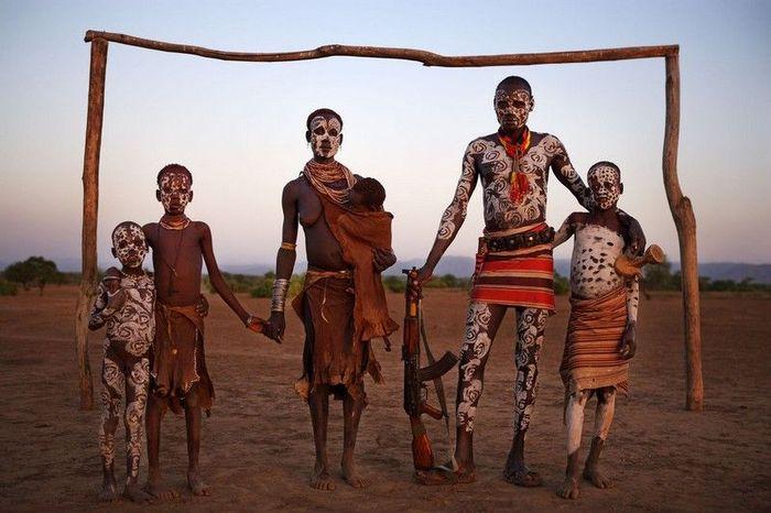 Жизнь в Африканской глубинке (38 фото)