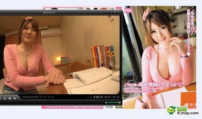 Японские порноактрисы (9 фото)