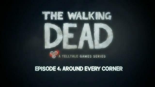 Трейлер The Walking Dead Episode 4 (видео)