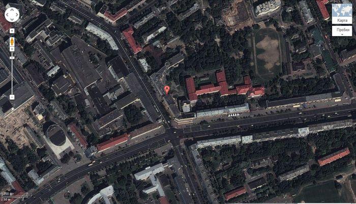 Академия искусств из космоса (4 фото)