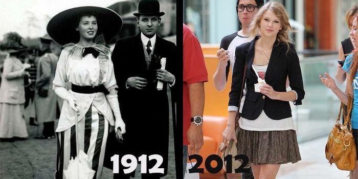 Что было сделано за сто лет? (12 фото)