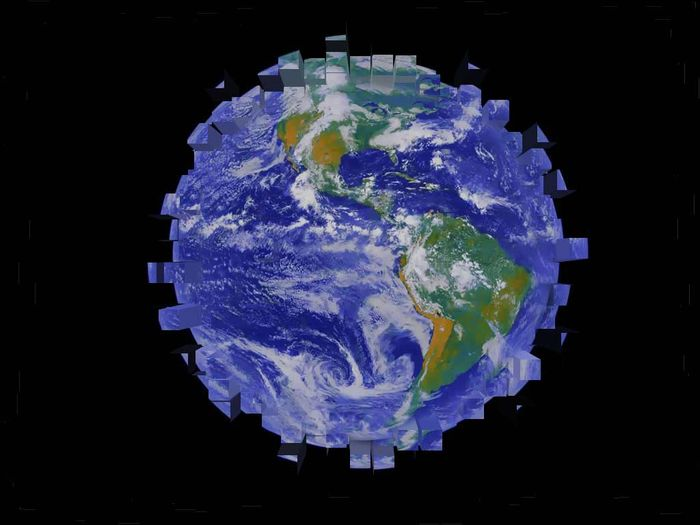 Что было бы, если бы Земля была кубом? (5 фото)