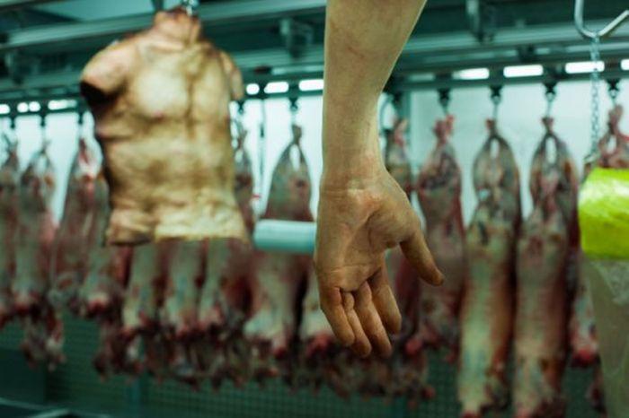 Лондонский магазин человеческого мяса (6 фото)