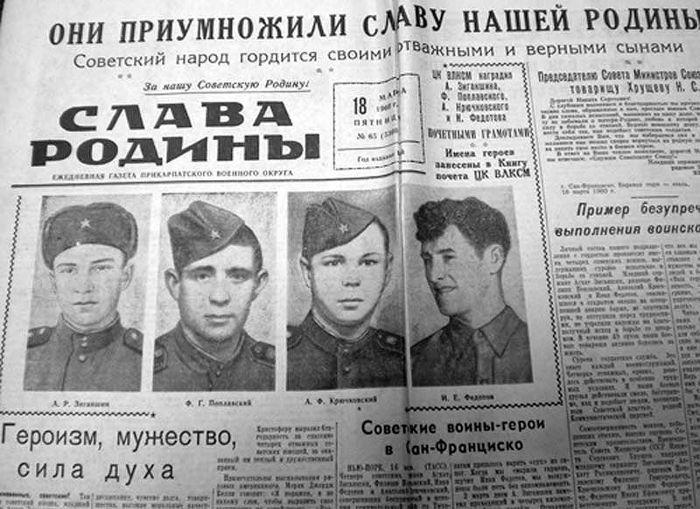 Подвиг советских моряков (12 фото)