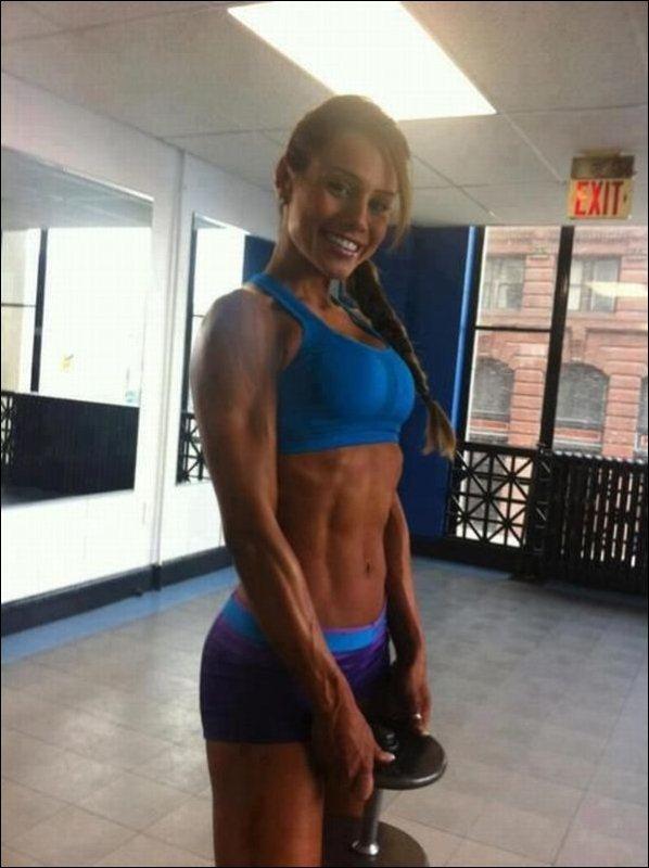 Сексуальные тела спортивных девушек (32 фото)
