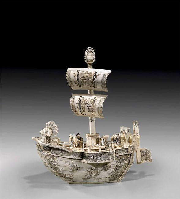 Китайские кораблики (14 фото)