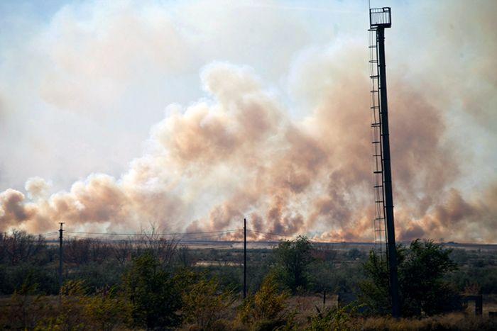 Взрыв под Оренбургом (5 фото + 1 видео)