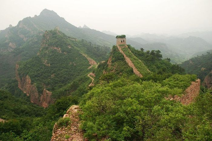 Руины Великой китайской стены (29 фото)