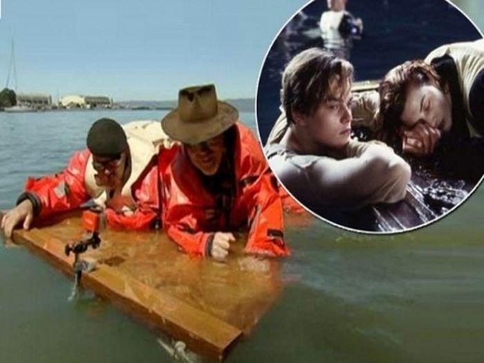Ди Каприо в Титанике утонул по собственной глупости (8 фото)