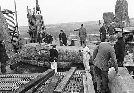 restavraciya 0021 (FOTO) VELIKA BRITANSKA PREVARA: Stounhendž je sagrađen 1954. godine!!!