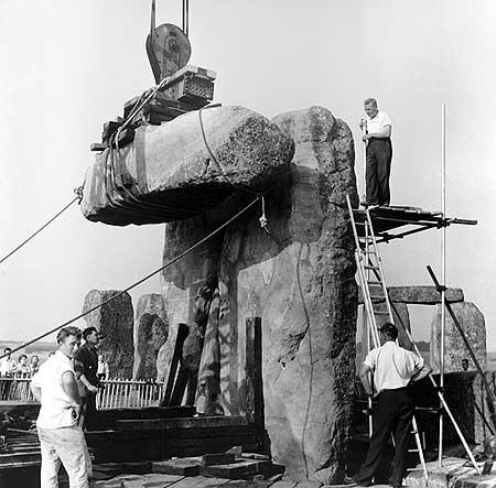 restavraciya 0046 (FOTO) VELIKA BRITANSKA PREVARA: Stounhendž je sagrađen 1954. godine!!!