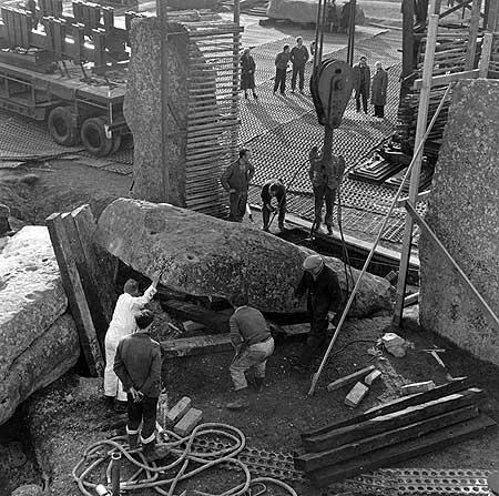 restavraciya 0047 (FOTO) VELIKA BRITANSKA PREVARA: Stounhendž je sagrađen 1954. godine!!!