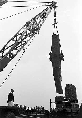 restavraciya 0081 (FOTO) VELIKA BRITANSKA PREVARA: Stounhendž je sagrađen 1954. godine!!!