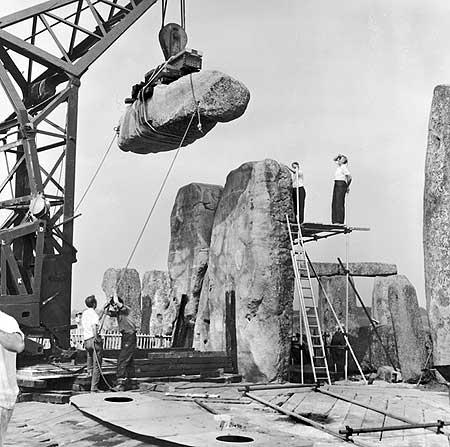 restavraciya 0104 (FOTO) VELIKA BRITANSKA PREVARA: Stounhendž je sagrađen 1954. godine!!!
