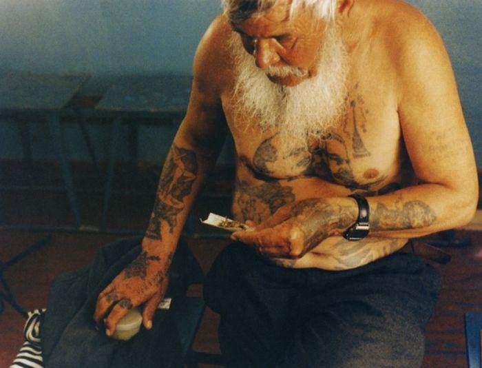 Значения тюремных наколок (18 фото + текст)