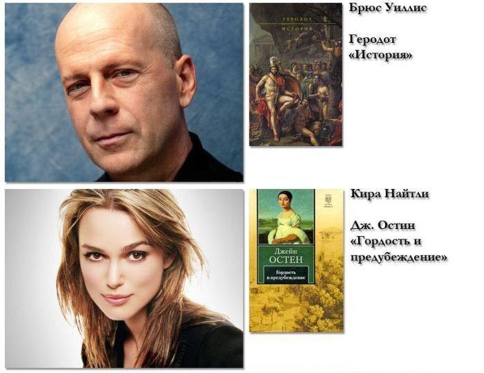 Любимые книги знаменитостей (20 фото)