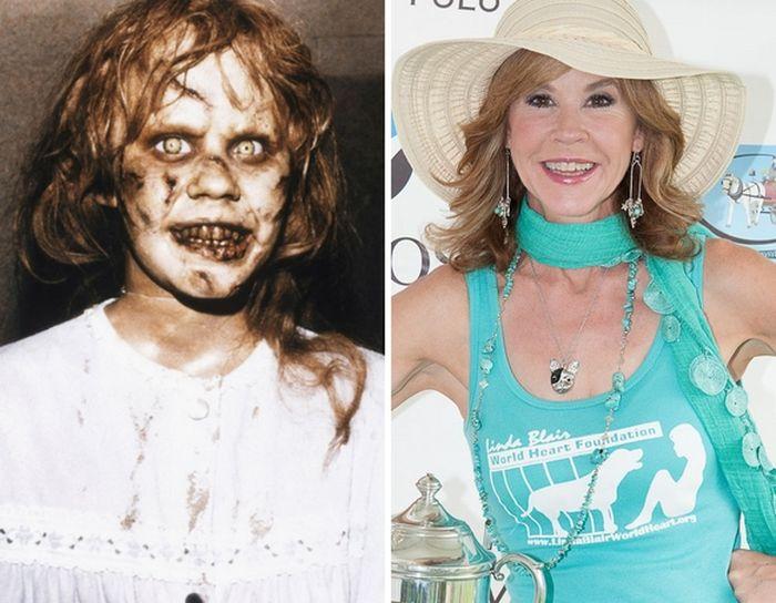 Актеры из фильмов ужасов: тогда и сейчас (30 фото)