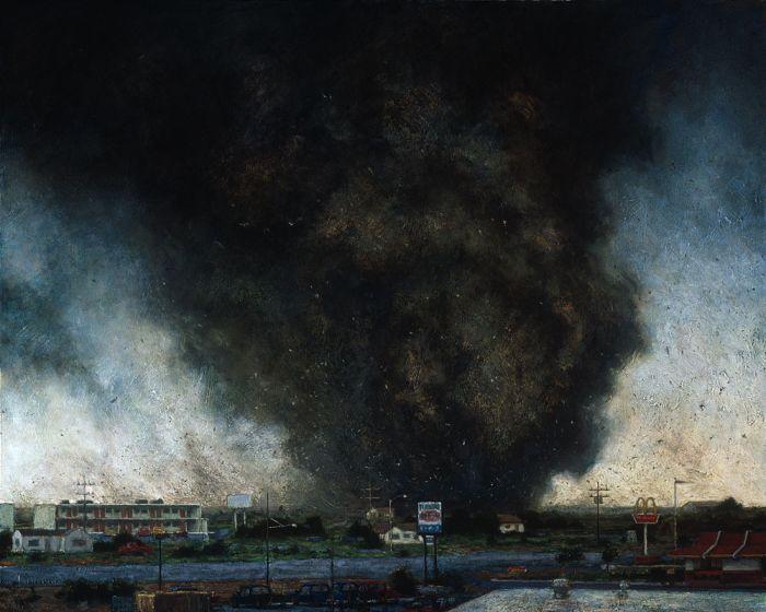 Рисунки мощных торнадо (53 фото)