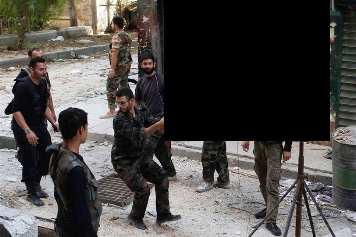 Самодельный гранатомет сирийских повстанцев (4 фото)