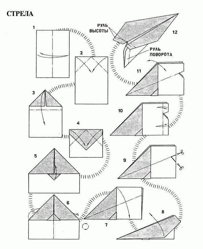 Как сделать бумажный самолетик который долго летает Корки. lol 899