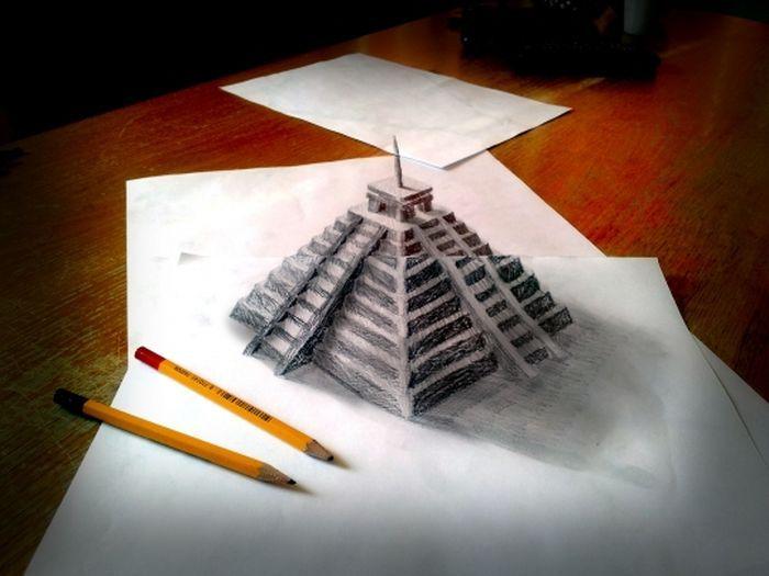 Шикарные 3D-рисунки (32 фото)