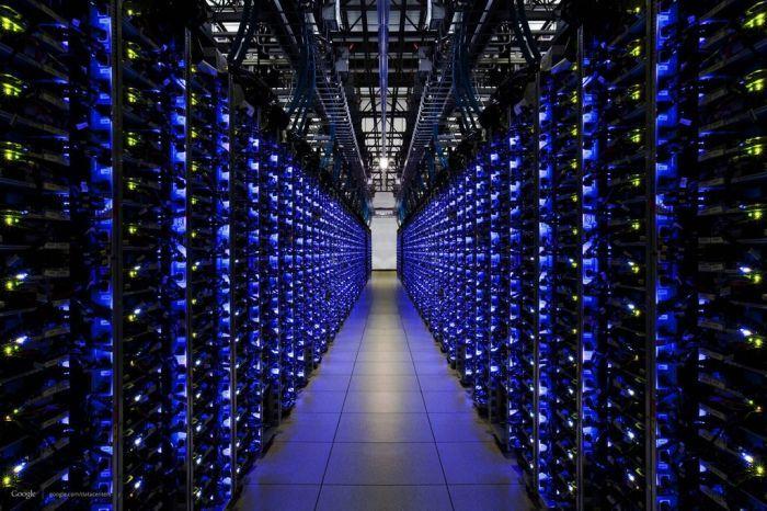 Футуристический дата-центр Google (36 фото)