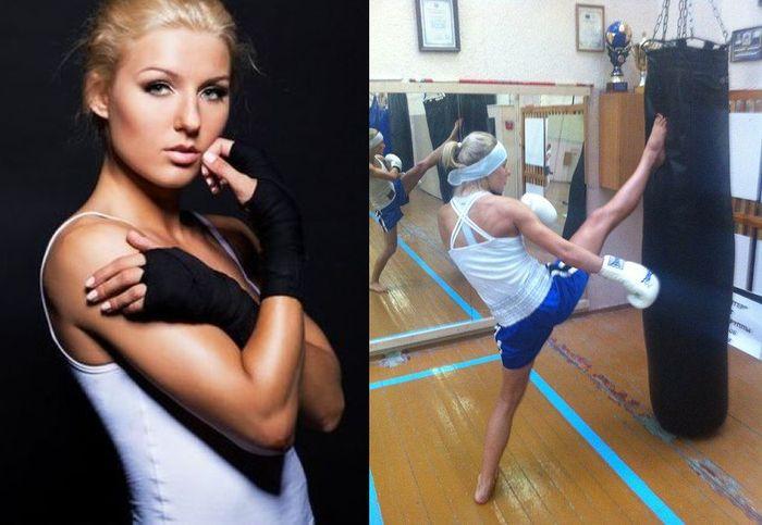 Первая красавица тайского бокса (30 фото)