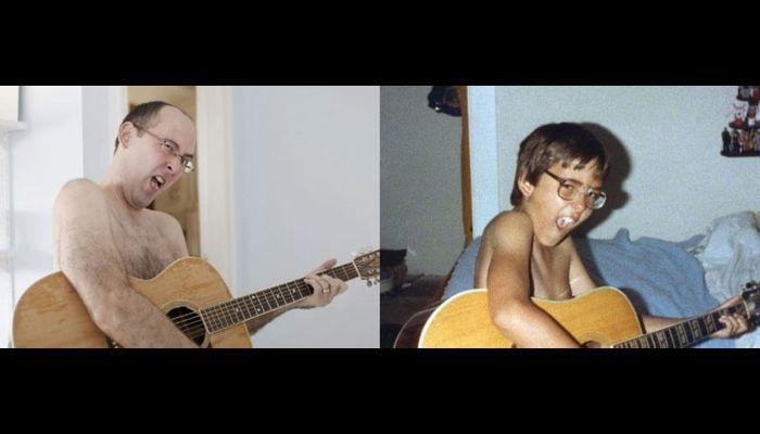 В молодости и сейчас (40 фото)