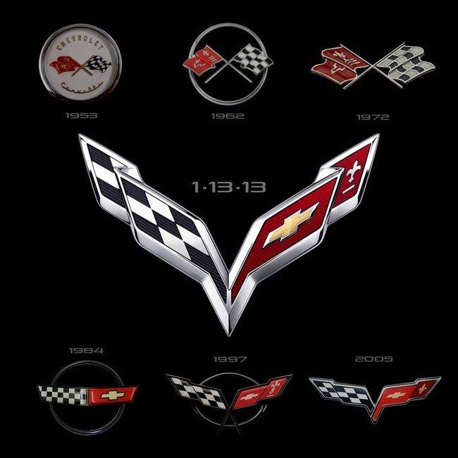 Компания Chevrolet обновила эмблему для Corvette (8 фото+видео)