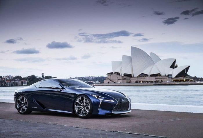 Новая модель LF-LC от Lexus представлена на AIMS 2012 (19 фото+видео)