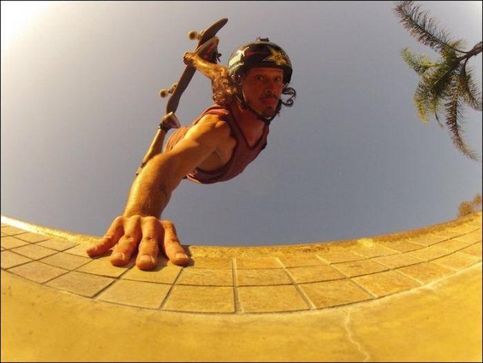 Спортивные моменты с необычного ракурса (22 фото)