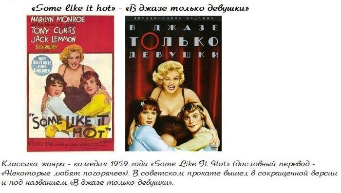 Странный перевод известных фильмов (14 фото)