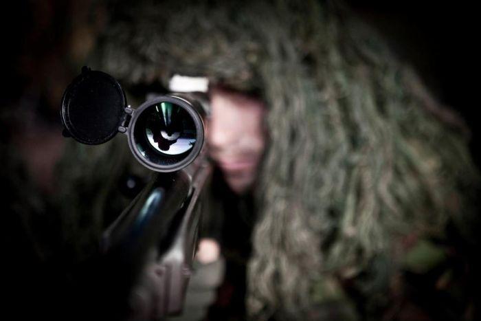 Обычный день голландских снайперов (28 фото)